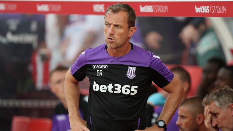 Gary Rowett's Stoke welcome Brentford on Saturday
