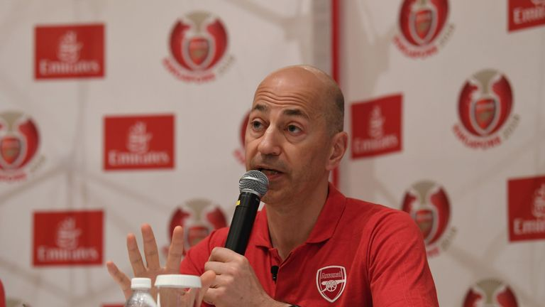 Arsenal chief executive Ivan Gazidis is wanted by AC Milan