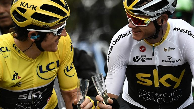 Geraint Thomas and Chris Froome will focus their 2019 season on the Tour de France