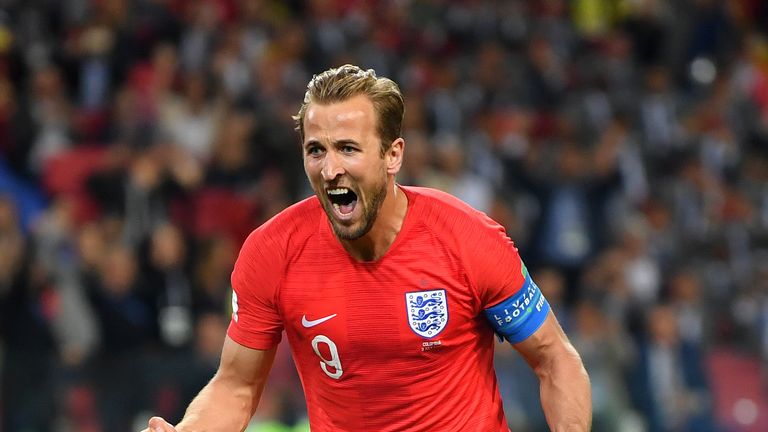 Kane picked up the World Cup Golden Boot with six goals