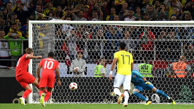 England scored a penalty against Colombia in the World Cup - when VAR was in use - following grappling in the penalty area