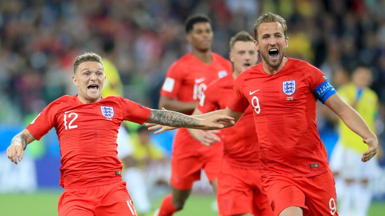 England face Sweden in Samara on Saturday afternoon