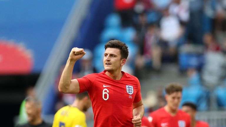 Harry Maguire has been in marvellous form for England at the World Cup