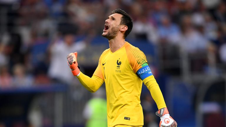 Hugo Lloris led France to victory in the World Cup final against Croatia last month.