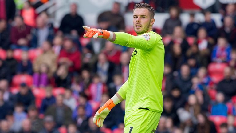 Jack Butland has been linked with a move to Chelsea