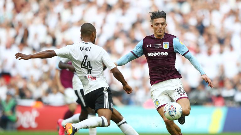 Steve Bruce thinks Aston Villa should get market value for Jack Grealish now finances are not such a big issue