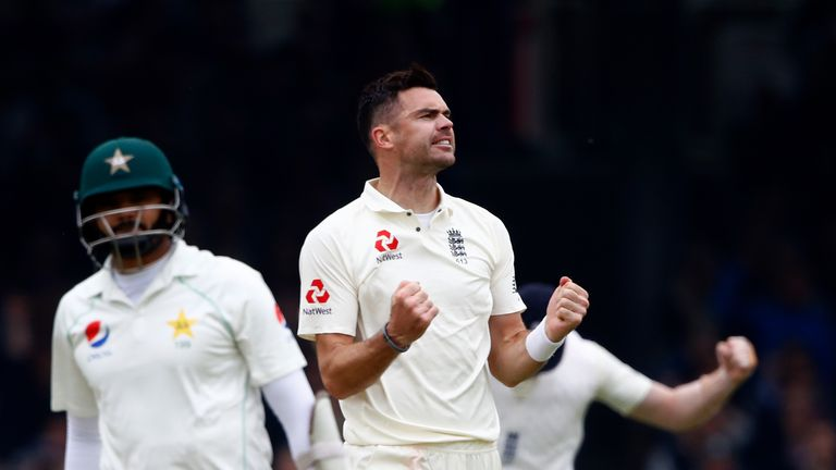 James Anderson has taken more Test wickets than any other England bowler