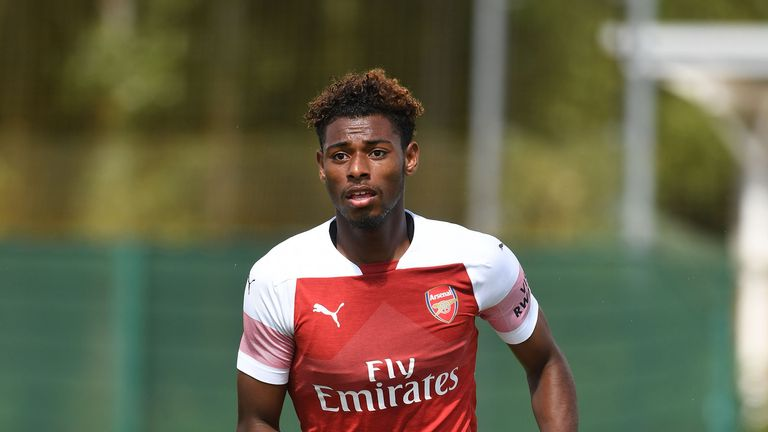 Jeff Reine-Adelaide had been at Arsenal for three years