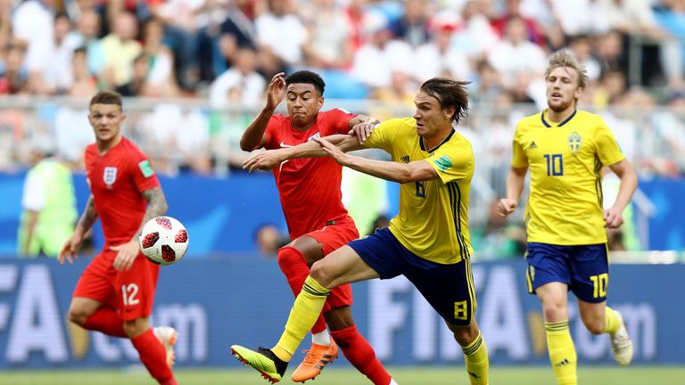 Lingard's movement in midfield is an important weapon for England