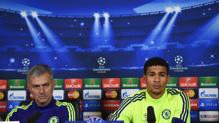 Loftus-Cheek faces the press with Jose Mourinho in 2014