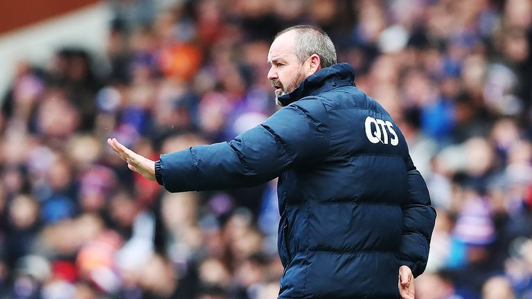 Steve Clarke's Kilmarnock are four points behind league leaders Celtic in fourth