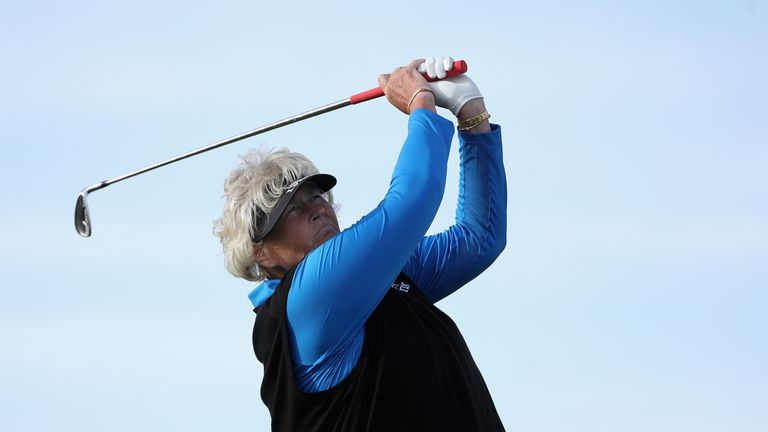 Davies was a two-time winner of the Evian Championship before it became a major
