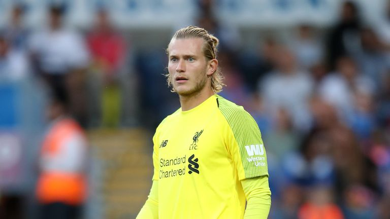 Loris Karius started Liverpool's most recent friendly - a 3-1 defeat to Borussia Dortmund in the US