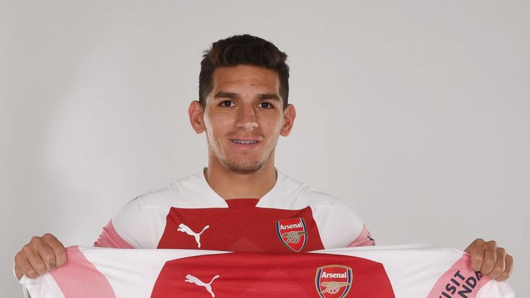 Guendouzi joins Lucas Torreira who was signed from Sampdoria