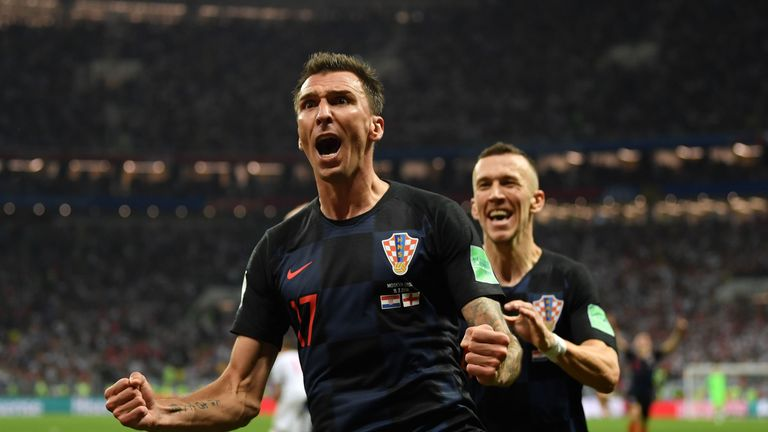 Mandzukic's extra-time goal ended England's World Cup journey