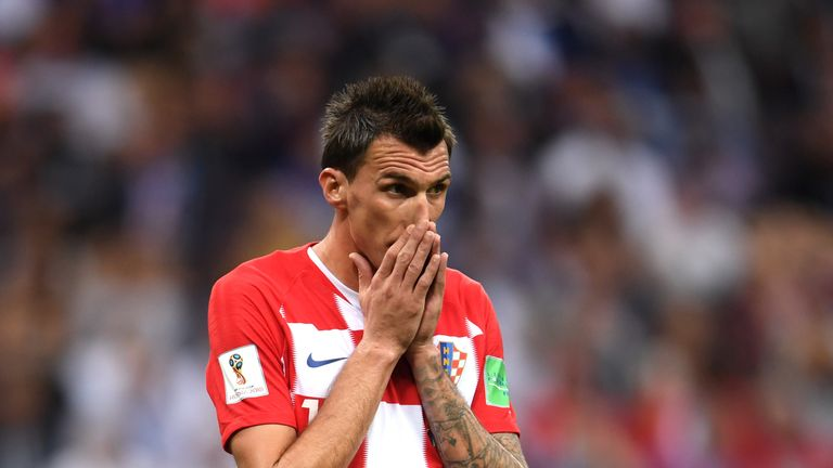 Mario Mandzukic scored at both ends in the final