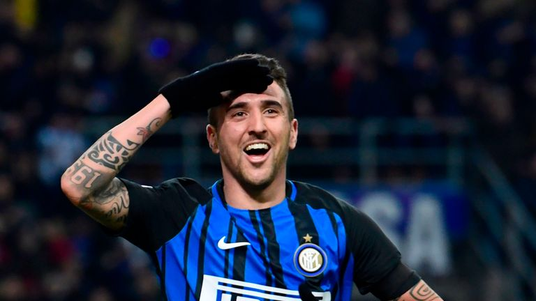 Inter Milan 'reject Manchester United loan bid for midfielder Matias Vecino'