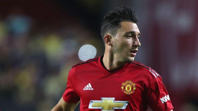 Napoli are interested in a potential move for Matteo Darmian