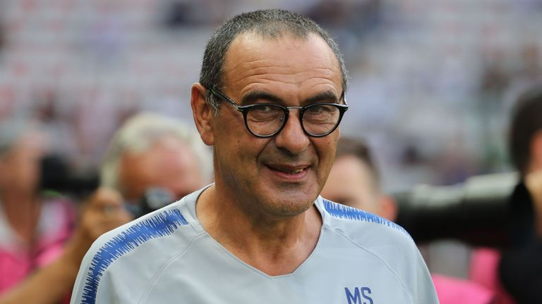 Sarri managed 15 clubs in Italy before taking charge at Chelsea