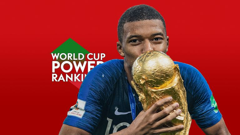 Power Rankings winner Kylian Mbappe won Young Player of the Tournament