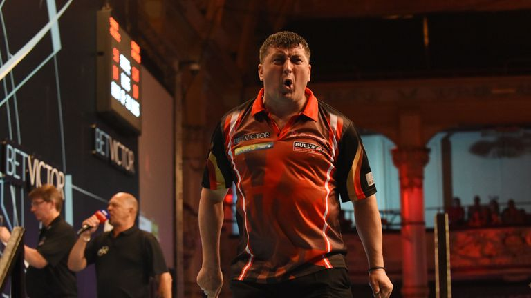 Mensur Suljovic has a good recent record against the world No 2