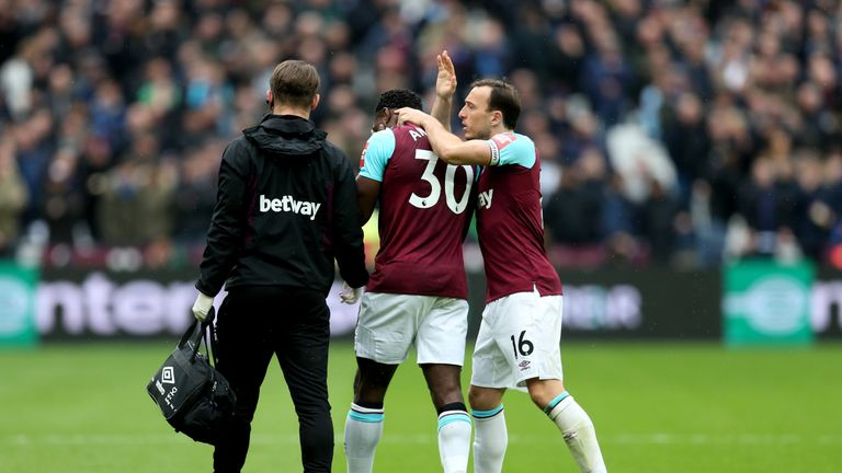 Antonio made just 21 appearances for West Ham last season after struggling with injury
