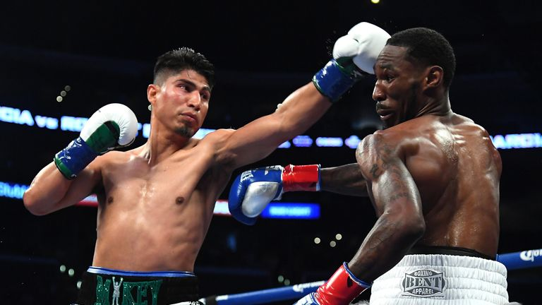 Mikey Garcia holds the WBC and IBF lightweight titles