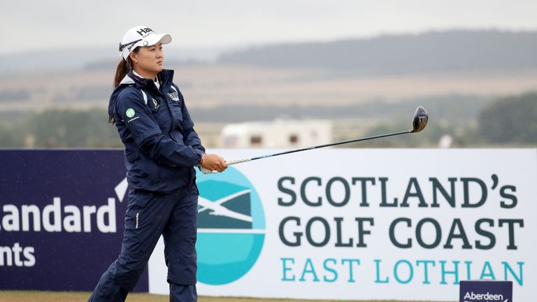 Minjee Lee just missed out on a play-off at Gullane