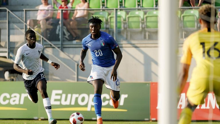 Juventus will hold talks with Mino Raiola over the future of striker Moise Kean
