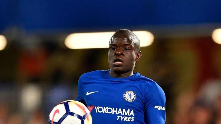 N'Golo Kante is currently preparing to play in the World Cup final for France
