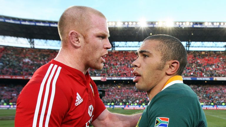 In 2009, Habana and the Boks won a brutally physical series 2-1 against Paul O'Connell's Lions