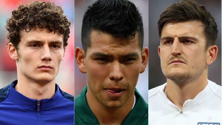 World Cup transfer targets: Harry Maguire, Benjamin Pavard, Hirving Lozano and more