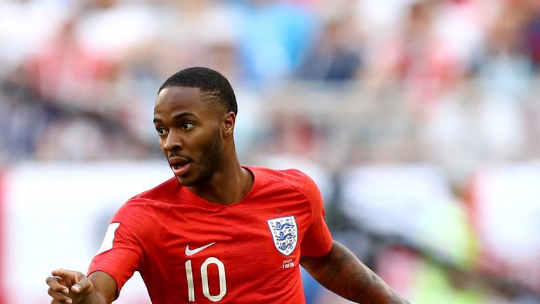 Raheem Sterling consistently penetrated Sweden's backline