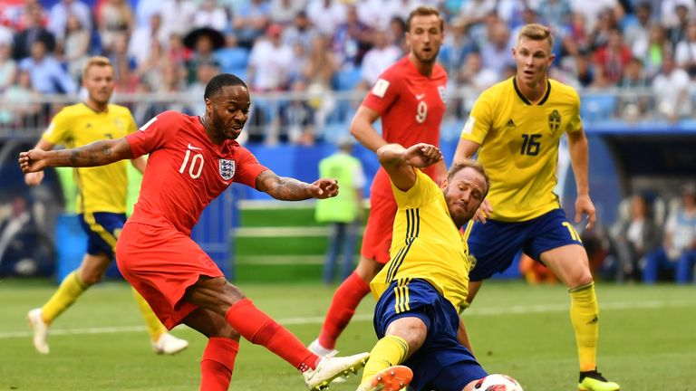 Sterling's long wait for an England goal has extended to 24 games