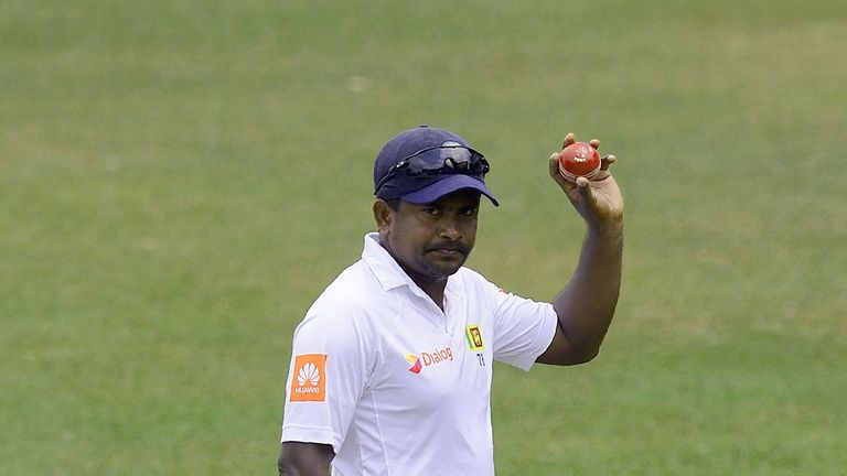Rangana Herath will lead Sri Lanka's spin attack