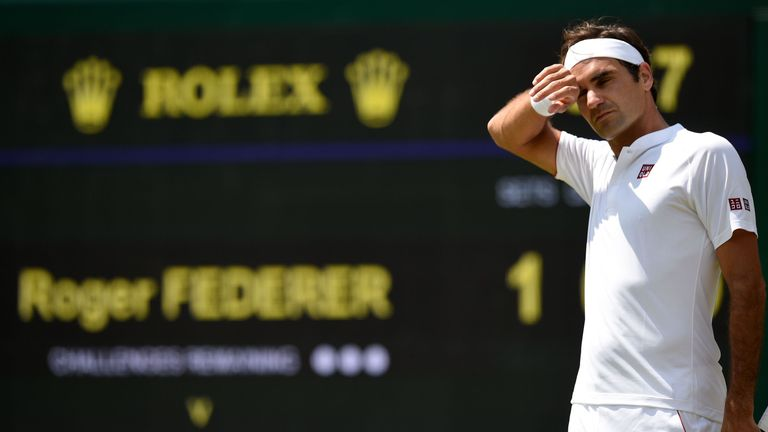 The emotions from Wimbledon in July will be driving Federer on when he faces Anderson