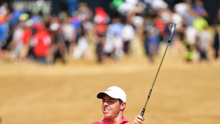 McIlroy was unable to find the birdies he needed over the last four holes