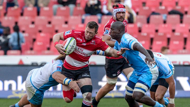 Ruan Combrinck and the Lions proved too strong for the Bulls