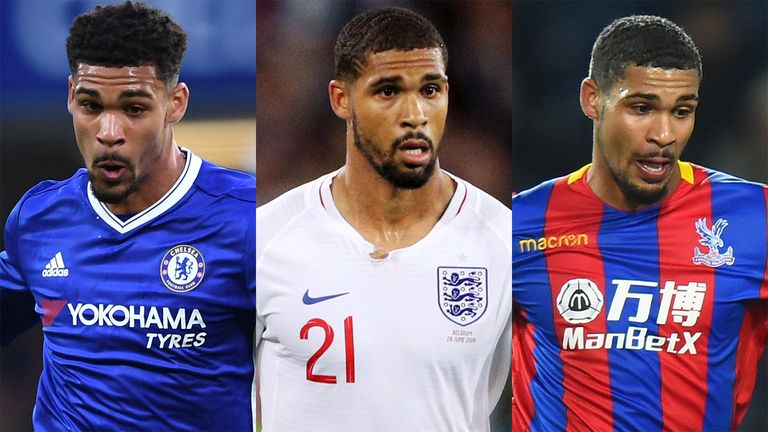 Ruben Loftus-Cheek has made three appearances for England in Russia