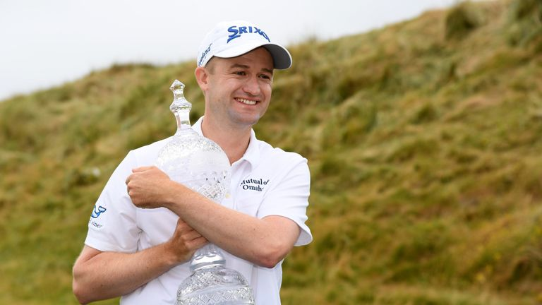 Knox's win at Ballyliffin Golf Club is his most recent European Tour title