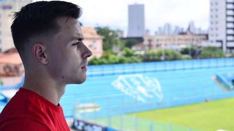 Ryan Williams went to play in Brazil for second-tier side Paysandu