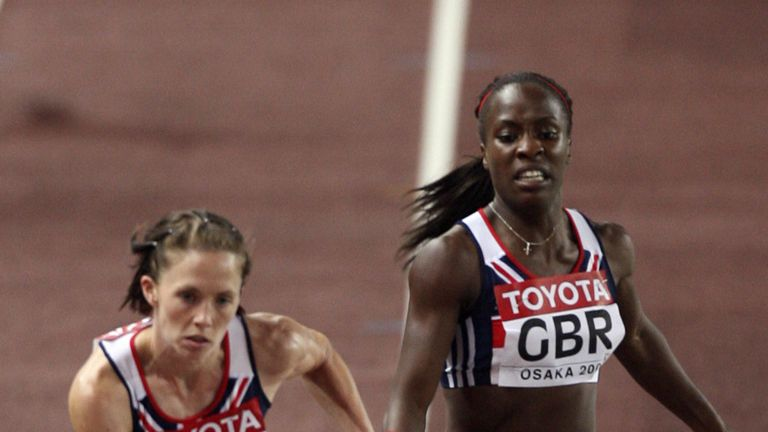 Marilyn Okoro and Nicola Sanders were denied 2008 Olympic podium place after finishing fifth