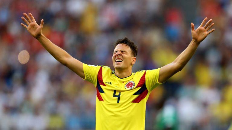 Santiago Arias has 45 caps for Colombia