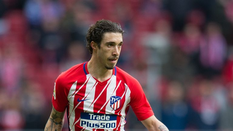 Sime Vrsaljko joined Atletico Madrid from Sassuolo two years ago
