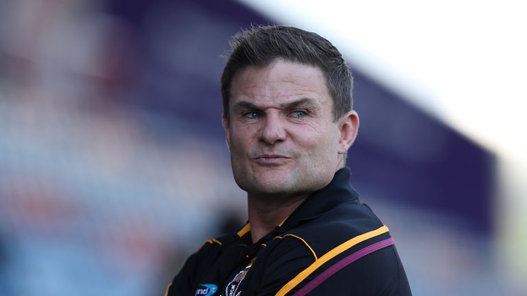 Huddersfield Giants' Head coach Simon Woolford is a former professional Australian rugby league player