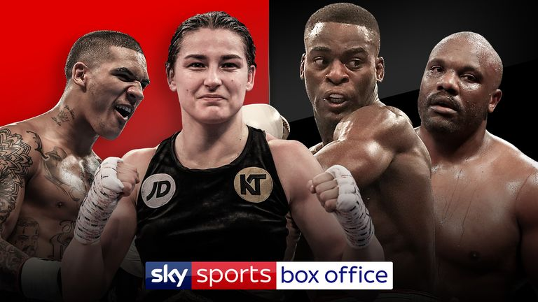 Conor Benn, Katie Taylor, Joshua Buatsi and Dereck Chisora all feature on the undercard