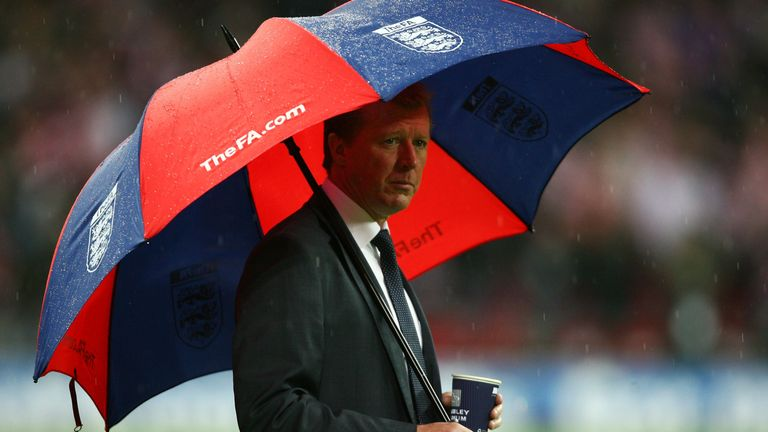 Steve McClaren was in charge of England in 2008