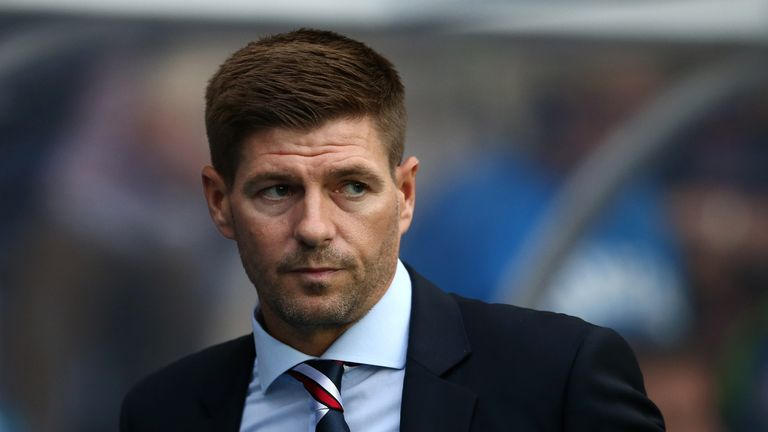 Steven Gerrard started life as Rangers manager with a 2-0 home win