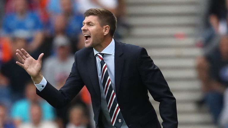 Steven Gerrard insists his side are not there to