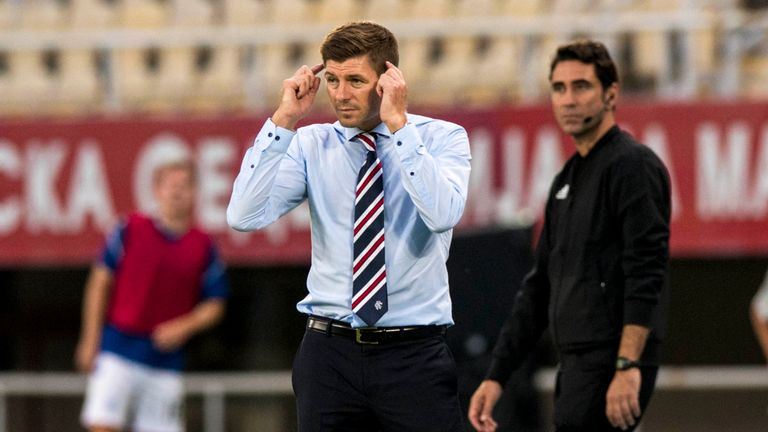 Gerrard says his Rangers side have a 'a platform to build on'